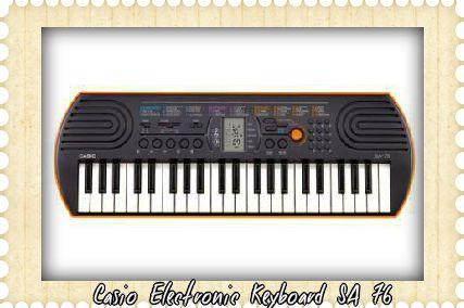 casio electronic keyboard sa76